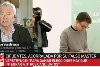 Sigue el lío en Podemos: Verstrynge atiende la llamada de Ferreras para poner a caer de un burro a Iñigo Errejón