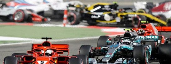 Vettel gana el Gran Premio de Baréin de Fórmula 1