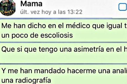 Este WhatsApp entre madre e hijo triunfa en las redes por la mítica respuesta de ella