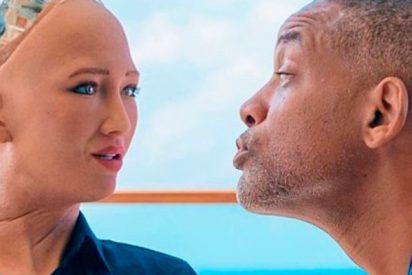 Así fue la cita de Will Smith con la robot Sophia