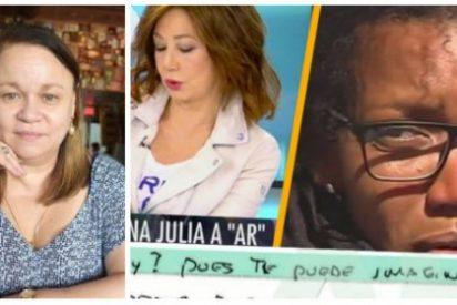 El soberano palo de Zoe Valdés a quien permitió que la asesina de Gabriel Cruz escribiera a Ana Rosa Quintana
