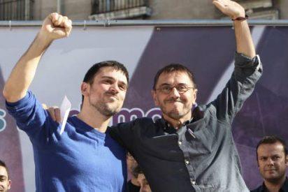 El vídeo del tremendo ridículo que hicieron Espinar y Monedero en un mitin sin público
