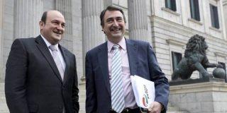 El PNV pone como condición a Sánchez, para apoyar la moción de censura a Rajoy, que el PSOE no convoque elecciones
