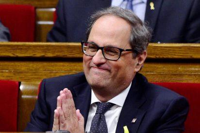 """Los espeluznantes y asesinos instintos de Quim Torra: """"Quiero un presidente paramilitar e intransigente"""""""