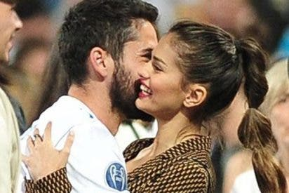 Sara Sálamo e Isco derrochan amor en la celebración de la Champions del Real Madrid