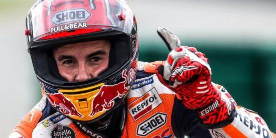 Moto GP: Marc Márquez gana en Francia por delante de los italianos Petrucci y Rossi