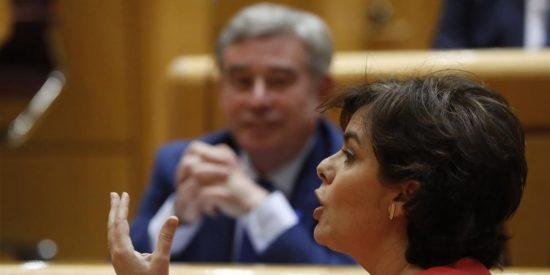 """Santamaría da para el pelo a un senador: """"Para decirme qué es ser mujer, debería nacer otra vez"""""""
