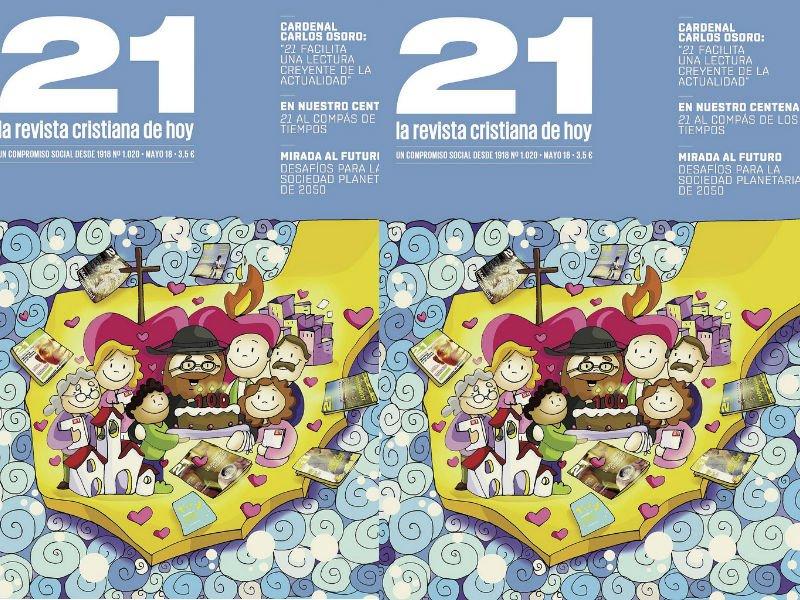 Osoro preside los actos del centenario de la revista 21