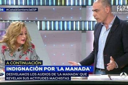 El tremendo cabreo de Nacho Abad con la redicha Elisa Beni rompe 'Espejo Público'