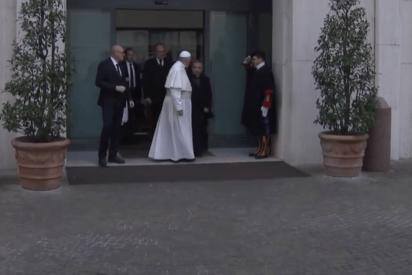 Vendido por 700.000 euros el Lamborghini Huracán del Papa Francisco