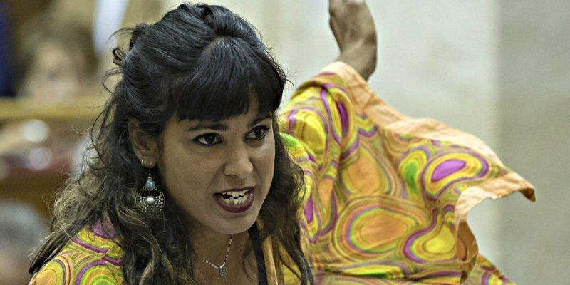 La sucia venganza podemita contra 'Kichi Woman' que la deja con las vergüenzas al aire