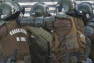 Con este violencia irrumpen los Carabineros de Chile en las instalaciones del Instituto Nacional