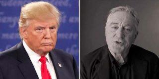 """Robert de Niro: """"Me gustaría darle un puñetazo en la cara al cerdo de Donald Trump"""""""