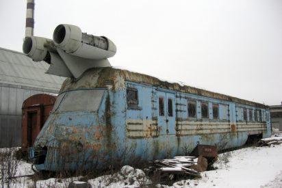 Tren: este cementerio soviético de trenes encierra inquietantes secretos
