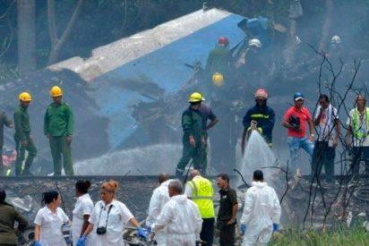 Primeras imágenes del lugar donde cayó el avión cerca de la habana