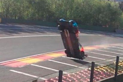 Impresionantes imágenes del accidente en las 6 Horas de Spa que no viste por televisión