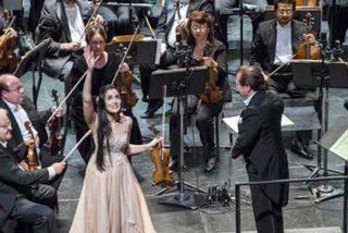 Espectacular concierto en Madrid de la afamada violinista dominicana Aisha Syed