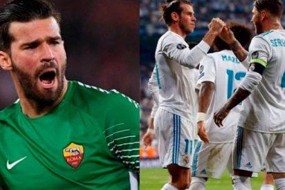 La Roma pide al Real Madrid un jugador para negociar por Alisson