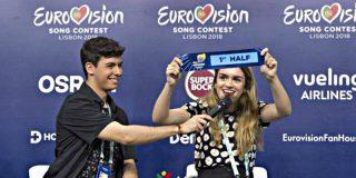 """Amaia reacciona 'muy fina' tras conocer que actuarán en la primera mitad de Eurovisión: """"Jo, qué mierda"""""""