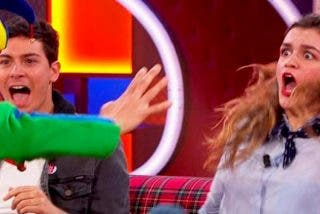 El mayor susto en televisión antes de Eurovisión de Amaia y Alfred