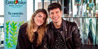 Alfred y Amaia cabrean a sus compañeros en Eurovisión por hablar en Español