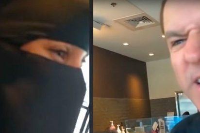 Este estadounidense insulta a una mujer musulmana por llevar nicab