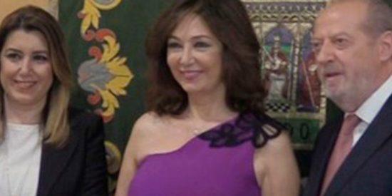Ana Rosa Quintana muy feliz tras ser nombrada hija predilecta de Sevilla