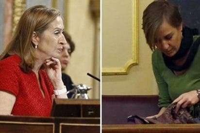 Ana Pastor abochorna a Tania Sánchez con una reprimenda en medio del Pleno por comer en el escaño