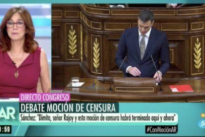 """Ana Rosa Quintana y Griso """"pactan"""" cortar a Pedro Sánchez un minuto después de empezar"""