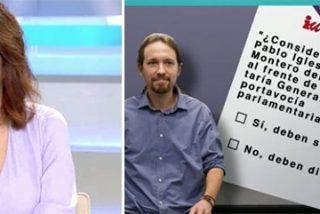 """Ana Rosa pide transparencia a Iglesias y Montero en su consulta a las bases: """"Quiero saber qué es ganar…"""""""