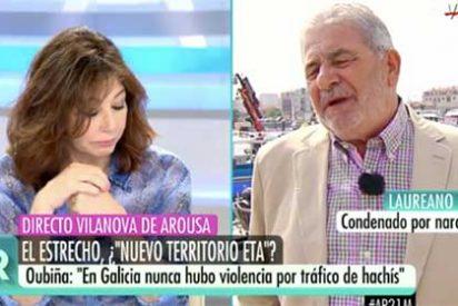 La respuesta del exnarco Laureano Oubiña sobre la droga y Felipe González que deja helada a Ana Rosa Quintana