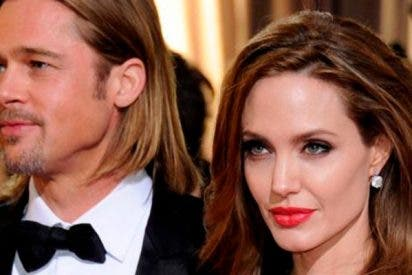 Angelina Jolie se harta de las tonterías de Brad Pitt y le da la del pulpo