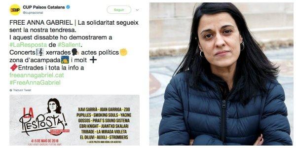 La increíble traición a Anna Gabriel que le deja sin un euro en Suiza