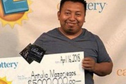 Este hombre gana la lotería cuatro veces en seis meses