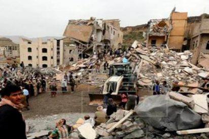 6 personas mueren en Yemen en bombardeos liderados por Arabia Saudí