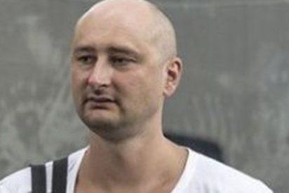 Fake: El periodista ruso Arkadi Bábchenko reaparece vivito y coleando tras simular su asesinato