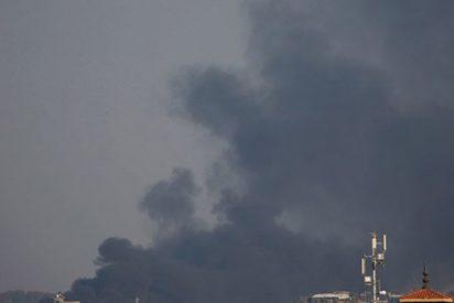 """Así ataca la aviación israelí a 25 """"blancos militares de Hamás"""" en Gaza"""