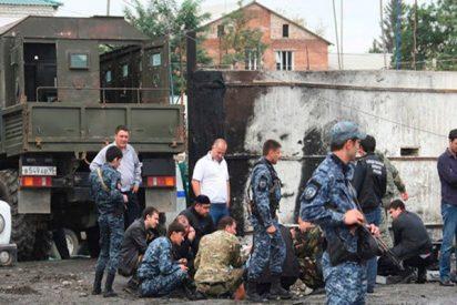Así fue el ataque contra una iglesia en la capital chechena