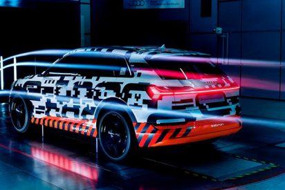 El Audi e-tron será el SUV más aerodinámico, con un coeficiente de 0,28¡Alucinante!