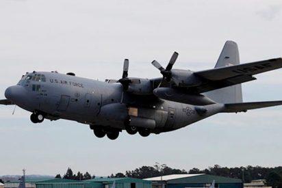 El peligroso vuelo rasante de un C-130 a un metro de un soldado en Yemen
