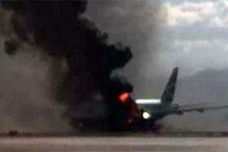 Un avión de Cubana de Aviación se estrella en La Habana