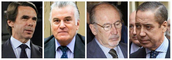 """Luis Ventoso le pega a Aznar un puñetazo en la boca del estómago por la detención de Zaplana: """"¿Cuál eran sus criterios de selección de personal?"""""""