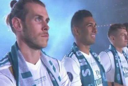 Así recibió el público del Bernabéu a Bale tras su histórico doblete