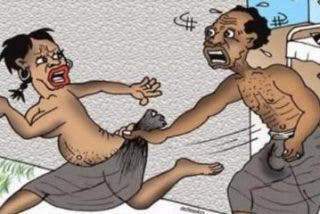 Sorence Owiti Opiyo tiene un pene 10 veces más grande que la media mundial y es muy infeliz
