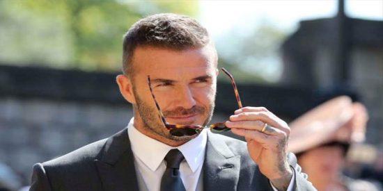 Boda Real: Todas las mujeres comentaron lo mismo en Twitter sobre la llegada de Beckham