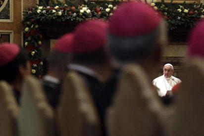 """El Papa admite que que en la Iglesia """"hay estrategias de guerra por el poder"""""""