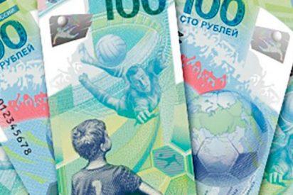 Así son los billetes conmemorativos para el Mundial 2018