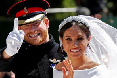 La boda real en Reino Unido se sella con este beso