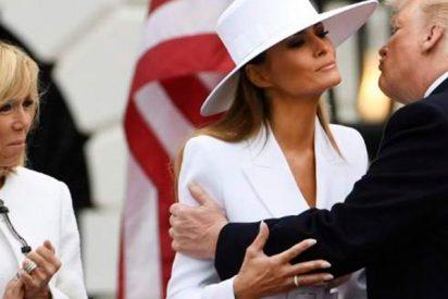 "Brigitte Macron confiesa sentir ""lástima"" por Melania Trump"