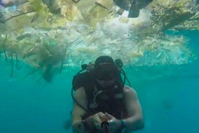 Buceando entre basura